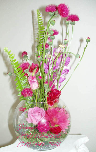 {Beautiful centerpiece to decorate}