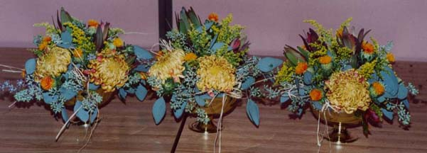 {I made this centerpiece for the school's event}