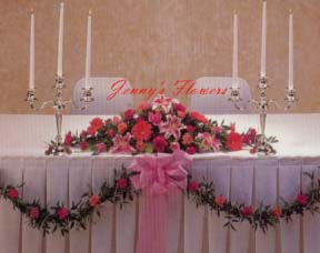{Centerpiece for Head Table}