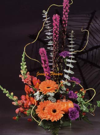 { THis centerpiece is perfect for Halloween}