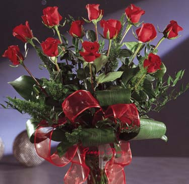 {Dozen of red roses for the one you love}