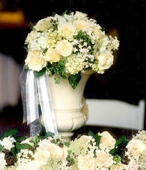 {Beautiful white Urn to decorate}