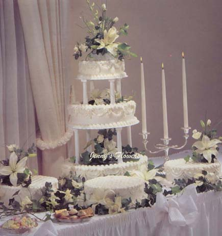 {My dream Wedding Cake look so elegant }