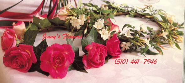 {Headpiece for flower girl with Roses and Ivy for only $25.  Headpiece and basket for only $45}