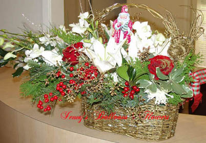 {Xmas Centerpiece for Dr. Rosa Wynn 12948 Village Drive, Suite B, Saratoga, CA 95070}