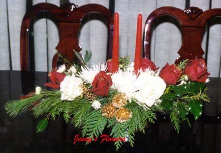 {I made this arrangement for Christina}